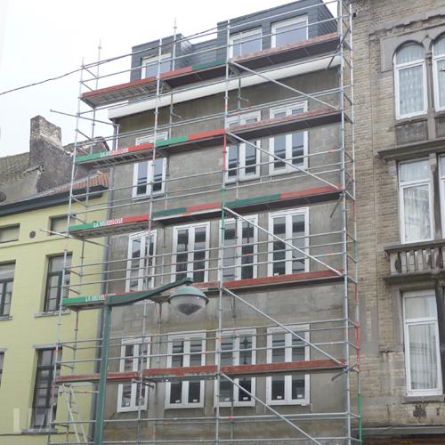 Immobilier bruxelles projet d 39 immeuble appartement for Appartement design bruxelles