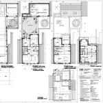 immeuble à appartements - en plans coupes élévations