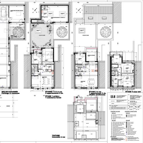 plans coupes l vations lia bureau d 39 architecture. Black Bedroom Furniture Sets. Home Design Ideas